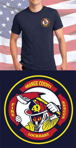 Screen Print Design Orange County Fire Department Maltese CrossFire Department Clothing