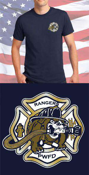 Screen Print Design Port Washington Fire Department Maltese CrossFire Department Clothing