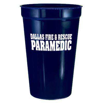 Firefighter Plastic Stadium Cup