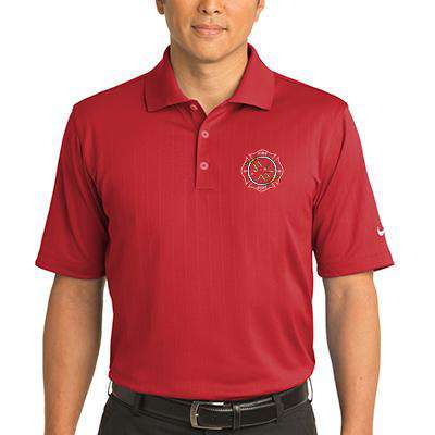 Firefighter Dri-FIT Textured Polo - Nike - 244620Fire Department Clothing
