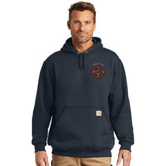 Carhartt Midweight Hooded Sweatshirt - CTK121Fire Department Clothing