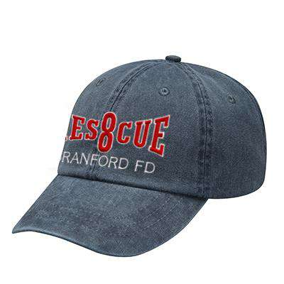 Off-Duty Fire Department Rescue Company Pigment Dyed Cap - Adams - AD969