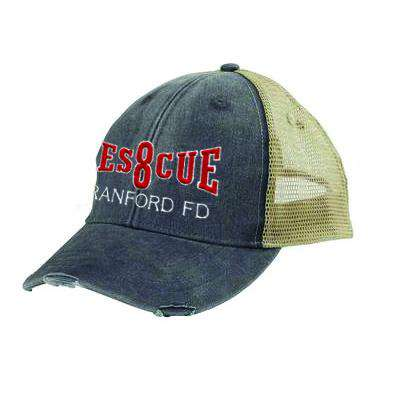 Off-Duty Fire Department Rescue Company Ollie Cap - Adams OL102 - EMB