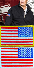 Right Sleeve American Flag Patch