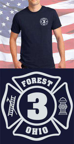 Forest Fire Department Maltese Cross
