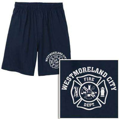 Cad-Cut Garment Printed Cotton/Poly Maltese Cross Shorts - Sport-Tek - Style ST310 - CADFire Department Clothing