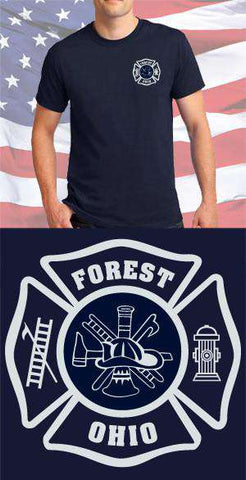 Forest Fire Department Scramble Maltese Cross