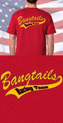 Screen Print Design Bangtails Drill Team Back DesignFire Department Clothing