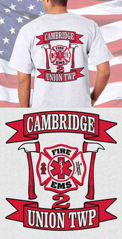 Cambridge Fire Department & EMS Back Design