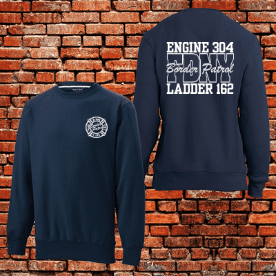 Fireman Special - Super Heavyweight Crewneck - F280Fire Department Clothing