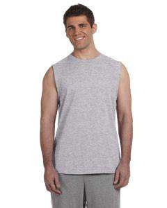 Screen Printed Gildan Sleeveless T-Shirt G270