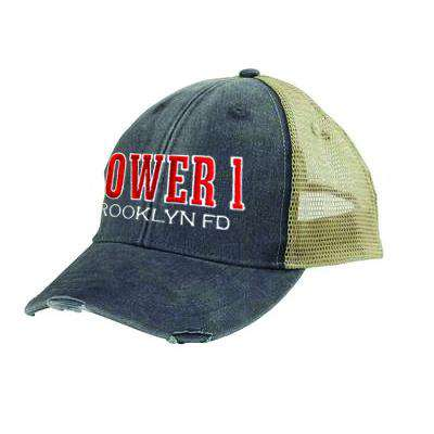 Off-Duty Fire Department Tower Company Ollie Cap - Adams OL102 - EMBFire Department Clothing