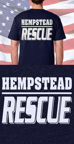 Hempstead Fire Department Rescue Back Design
