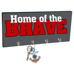 Sublimation Accessory Sublimatable Keyhanger with 4 Silver Hooks-UN4392-SUBFire Department Clothing