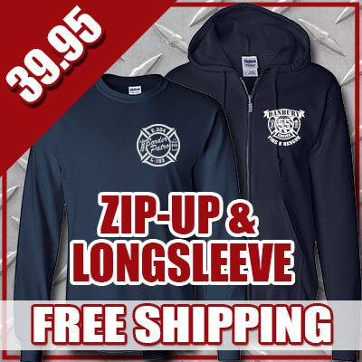 Winter Special - Personal Zip-up Hooded Sweatshirt & Longsleeve T-shirt - G126 & G240