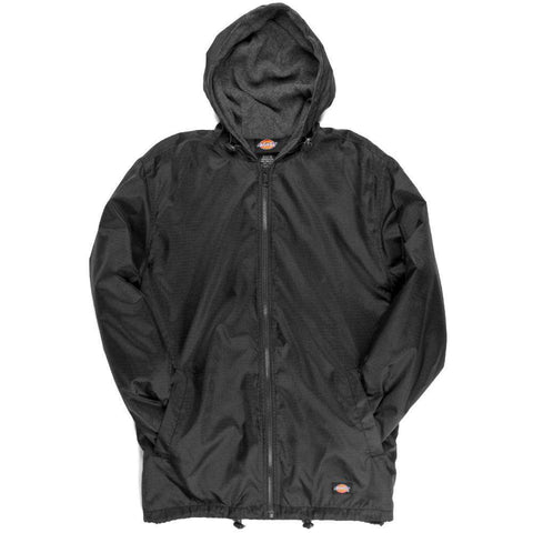 Jacket Fleece-Lined Hooded Nylon Jacket - Dickies - 33237Fire Department Clothing