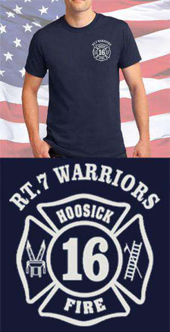 Hoosick Fire Department Warriors Maltese Cross