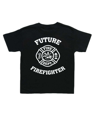"Printed Firefighter Shirt - ""Future Firefighter"" - Gildan 200B - CAD"