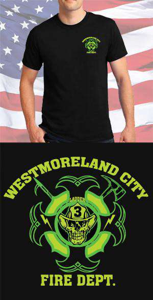 Westmoreland City Fire Department Maltese Cross