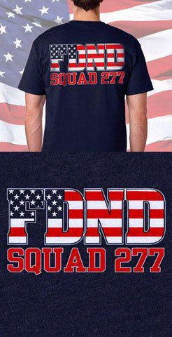 FDND American Flag Back Design