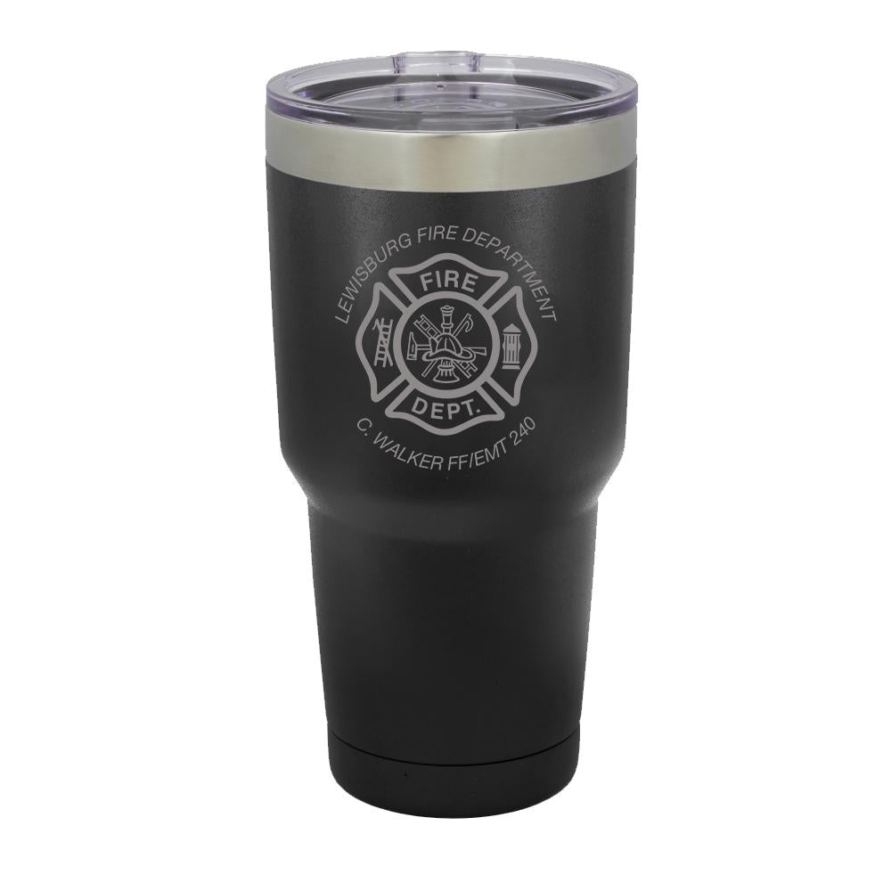 Tumbler with Maltese Cross
