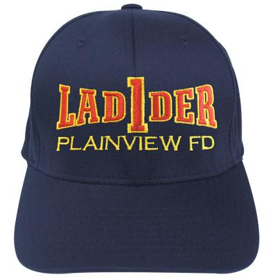 Firefighter Hat with Ladder Company Design
