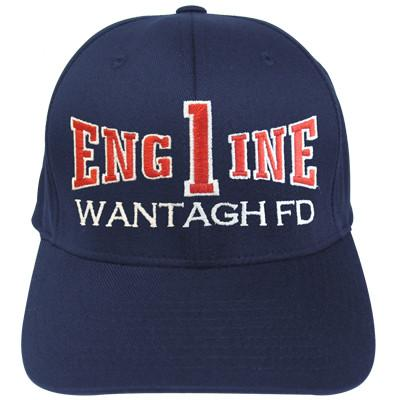 Firefighter Hat with Engine Company Design