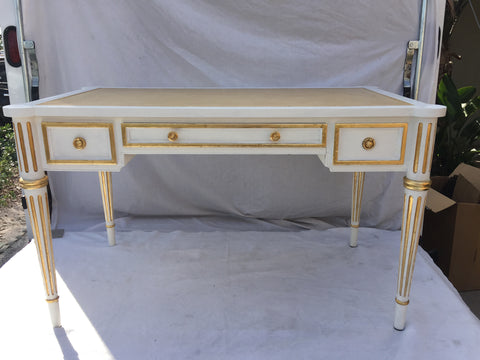 French Louis XVI Style Desk by Mark David