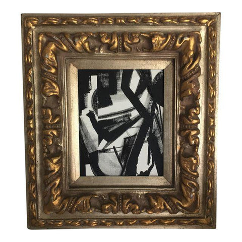 SOLD Charcoal Abstract