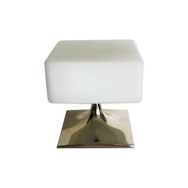 SOLD Mid Century Laurel Chrome Lamp