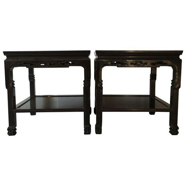 SOLD Chinoiserie Ming Tables, Pair