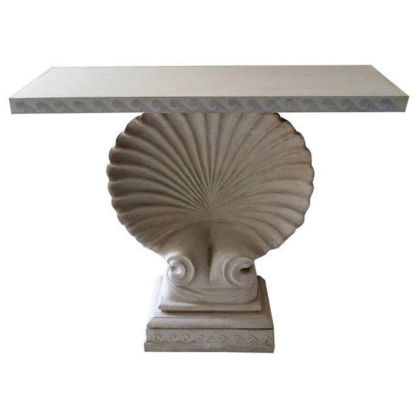 SOLD Shell Console Edward Wormley Style