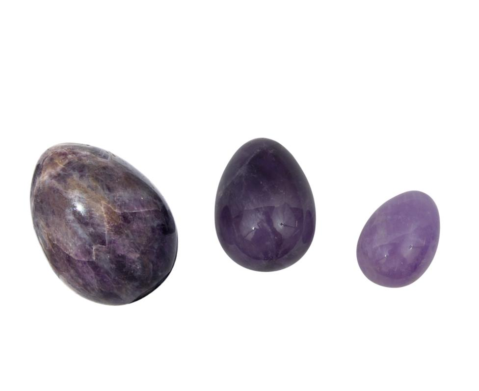 Amethyst Yoni Egg Set