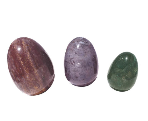 Fancy Jasper Yoni Eggs