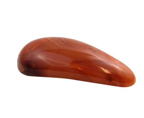 Carnelian breast crystal