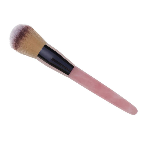 Rose Quartz Make Up Brush | Large Powder Brush