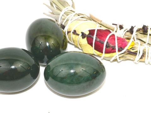 Perfectly Imperfect Nephrite Jade Yoni Egg