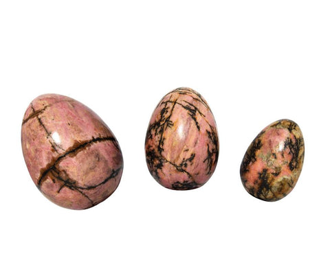 rhodonite yoni eggs