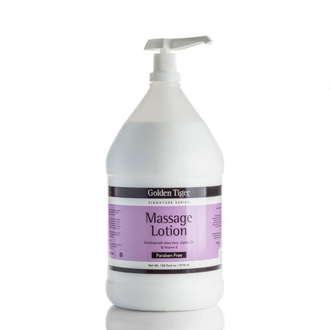 Massage Lotion - Paraben Free - 128-oz./Gallon