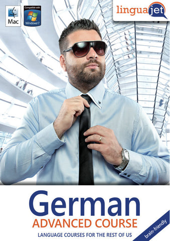 German, Advanced course, the brain-friendly way