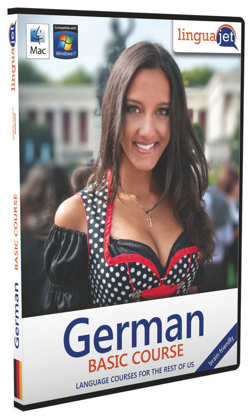 German, Basic course, the brain-friendly way