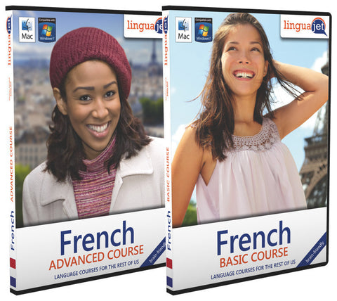 French, Double pack (Basic+Advanced)