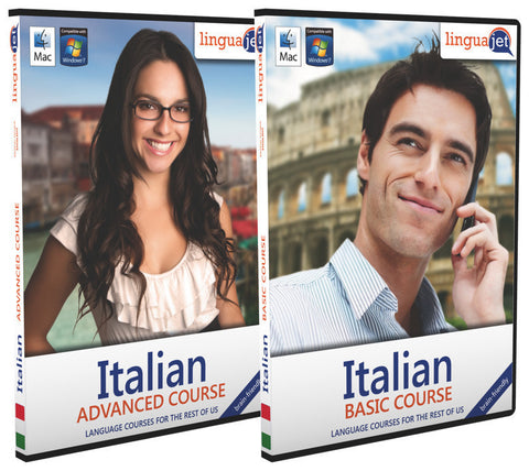 Italian, Double pack (Basic+Advanced)