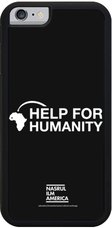 HELP FOR HUMANITY IPHONE CASE BLACK