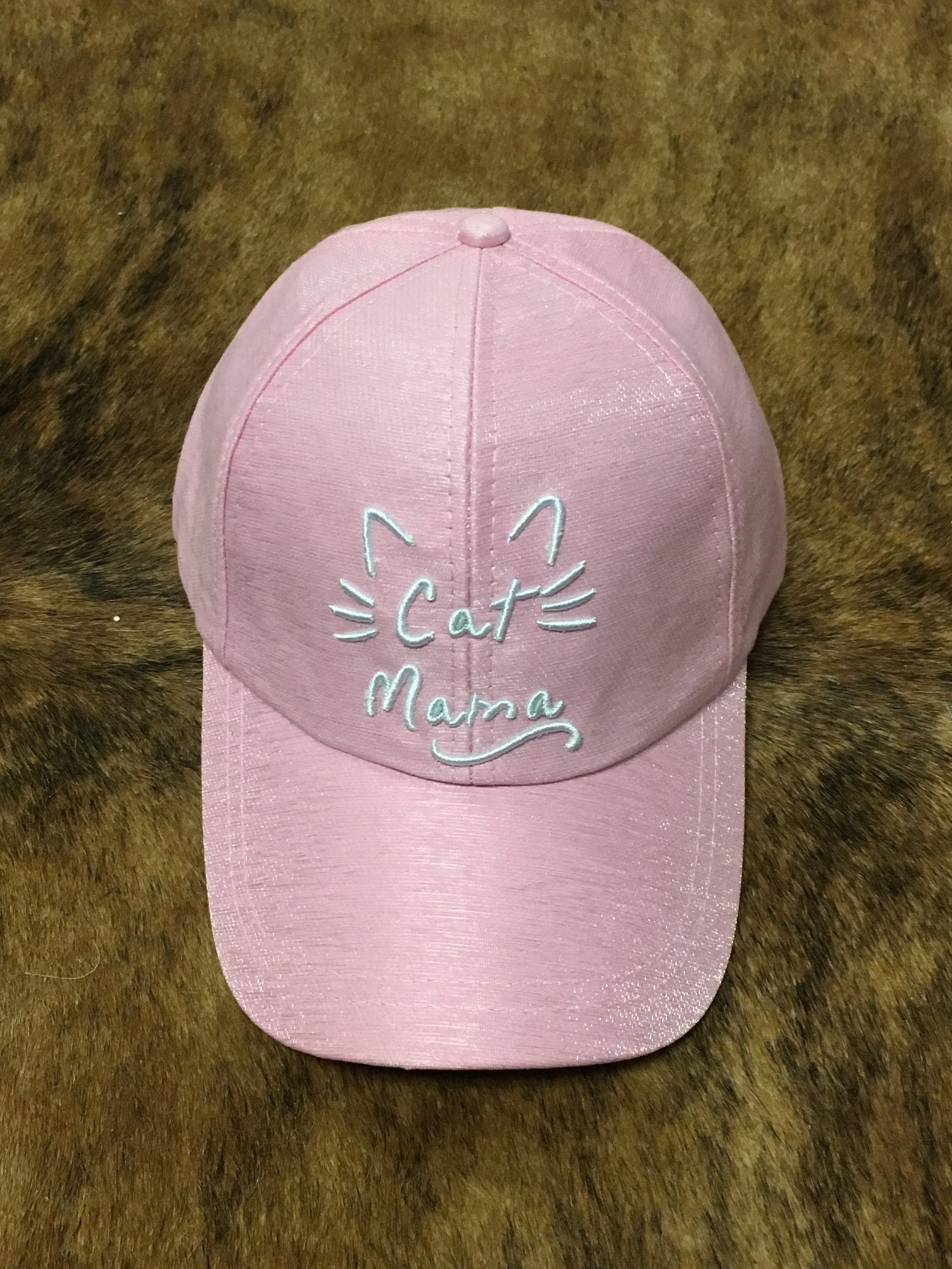 Cat Mama Cap - Pink | Feathers n Fringe Boutique