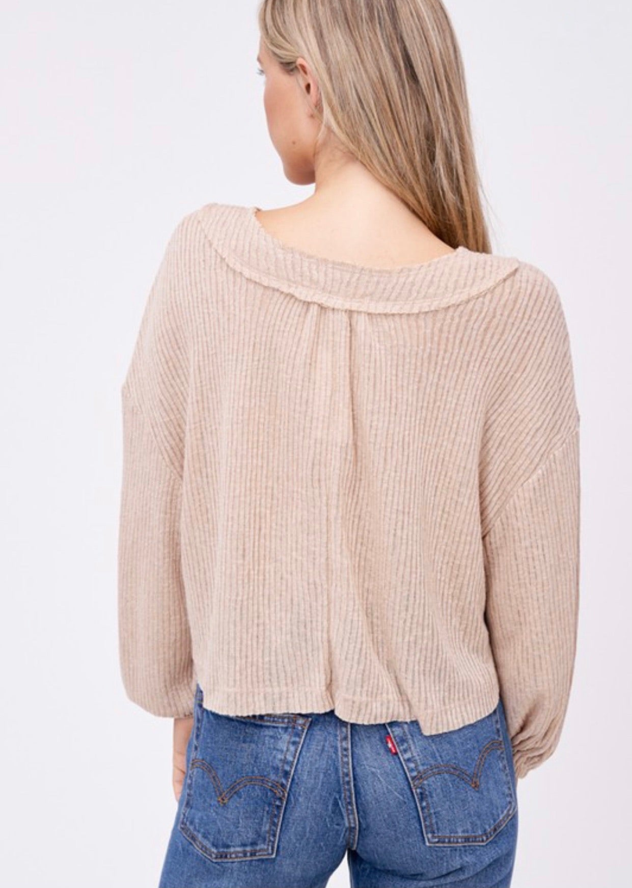 Fresh Air Long Sleeve Top