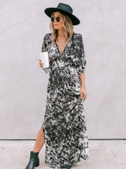 Eyes For You Maxi Dress - Black