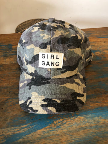 Girl Gang Camo Cap