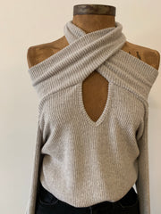 Coffee Date Sweater - Grey