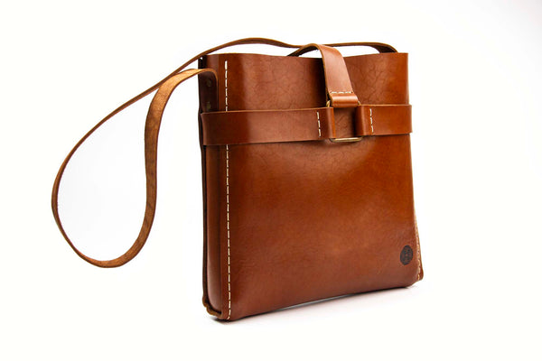 Buckle Bag ~ Brown